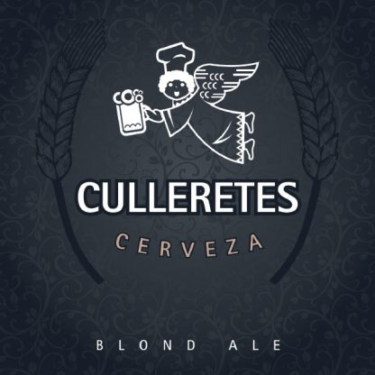 Cervesa Culleretes - Blond Ale - Etiqueta