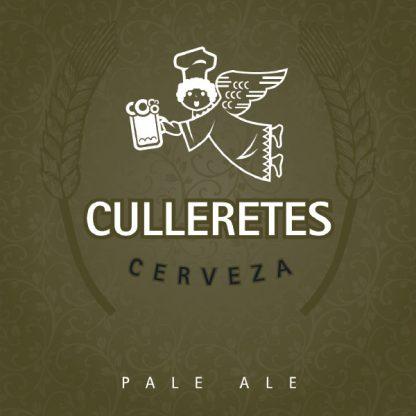 Cervesa Culleretes - Pale Ale - Etiqueta