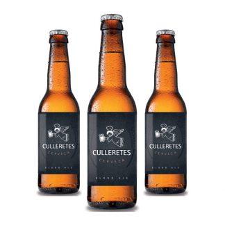 Cervesa Culleretes - Blond Ale - PACK Ampolles 33cl