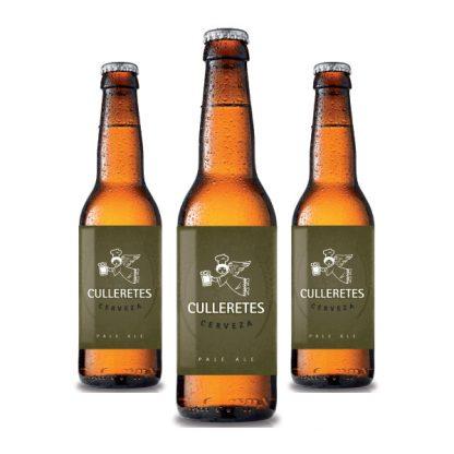 Cervesa Culleretes - Pale Ale - PACK Ampolles 33cl